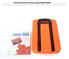 200 кг складной Портативный ручной тележки плоские тележки складные сумки тележки для багажа Корзина Портативный нержавеющей прицеп
