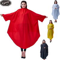 Salon Professional Hair Styling Cape,Backwards Clothes Hair Cutting Coloring Polyester Taffeta Hairdresser Wai Cloth Barber Cape