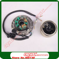 Original Zongshen Magneto Stator Flywheel Rotor kit For ZS150 155z 160cc Engine Dirt Pit Bike Monkey Bike parts Free shipping