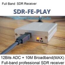 12 бит 10 кГц-2 ГГц SDR приемник SDRPLAY RSP1 RSP2 RTL-SDR HackRF обновление AM FM HF SSB CW приемник широкополосный Полнодиапазонный радиоприемник