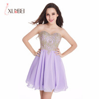 2017 Sweetheart Gold Lace Mint Green Chiffon Short Homecoming Dresses A Line Formal Prom Cocktail Party Dresses vestido de festa
