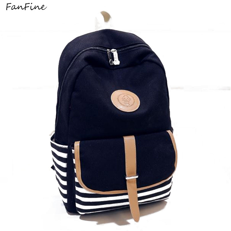 Aliexpress.com   Buy FanFine 2018 Hot Sale Style Bookbags Womens Backpack  Travel Bags Student School Bag Girl Backpacks Casual Travel Rucksack from  Reliable ... 4829da1ebf9f4