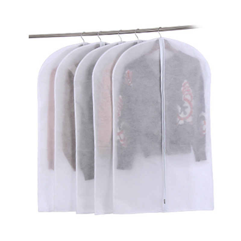 Dust Cover Storage Bags Zippered Clothing Case Household Products for Home Suit Clothes Coat Storing Thing Non-woven Craft JF003 garment bag