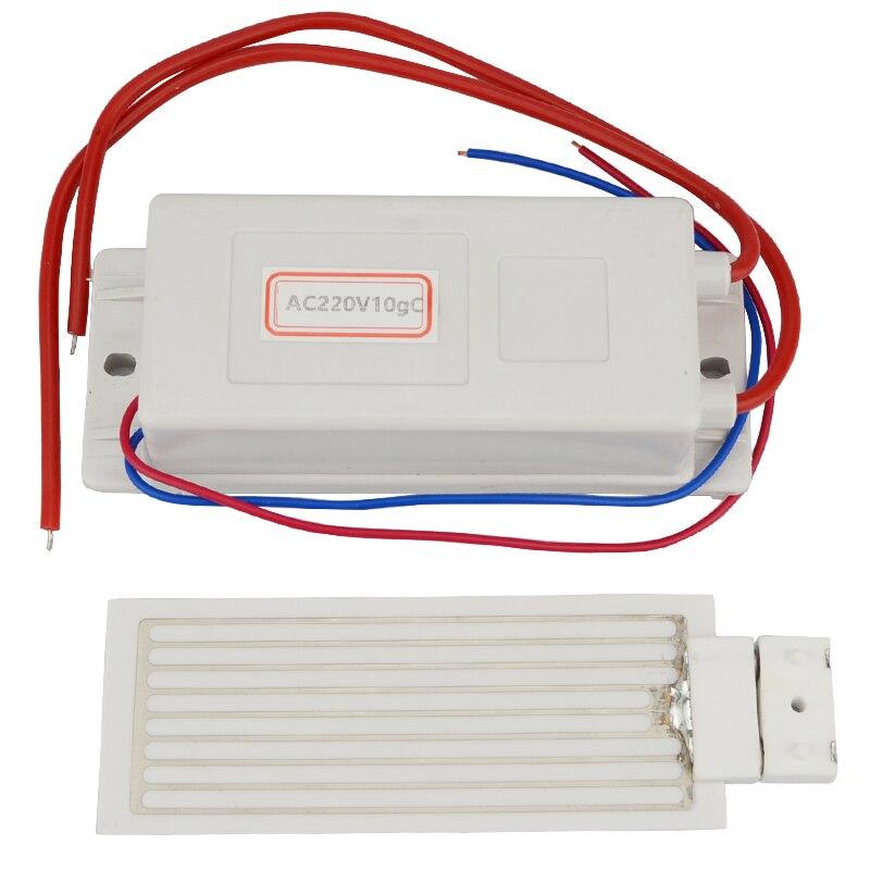 Ozonizer 3.5g 5g 7g 10g Portable 220V Ozone Generator Kit Ceramic Plate Air Cleaner Sterilize Air Purifier