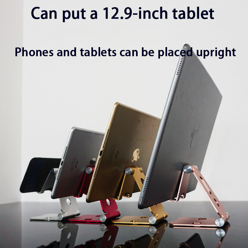 Universal Rotatable Desktop Tablet Holder For Ipad Air 2 Mini 1 3 4 5 Pro 9.7 10.5 12.9 Foldable Cell Phone Holder Stand Support