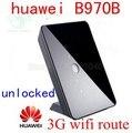 Разблокирована Huawei B970b Оригинал 3 Г беспроводной Маршрутизатор HSDPA 3 г WI-FI маршрутизатор 3 г ключ 900/2100 MHz pk b683 b660 b593 b970 b681