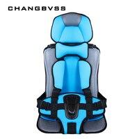 6 M a 12 años de edad, Alfombra de seguridad para niños y niñas, sillas de protección con cinturón de viaje portátil cojines