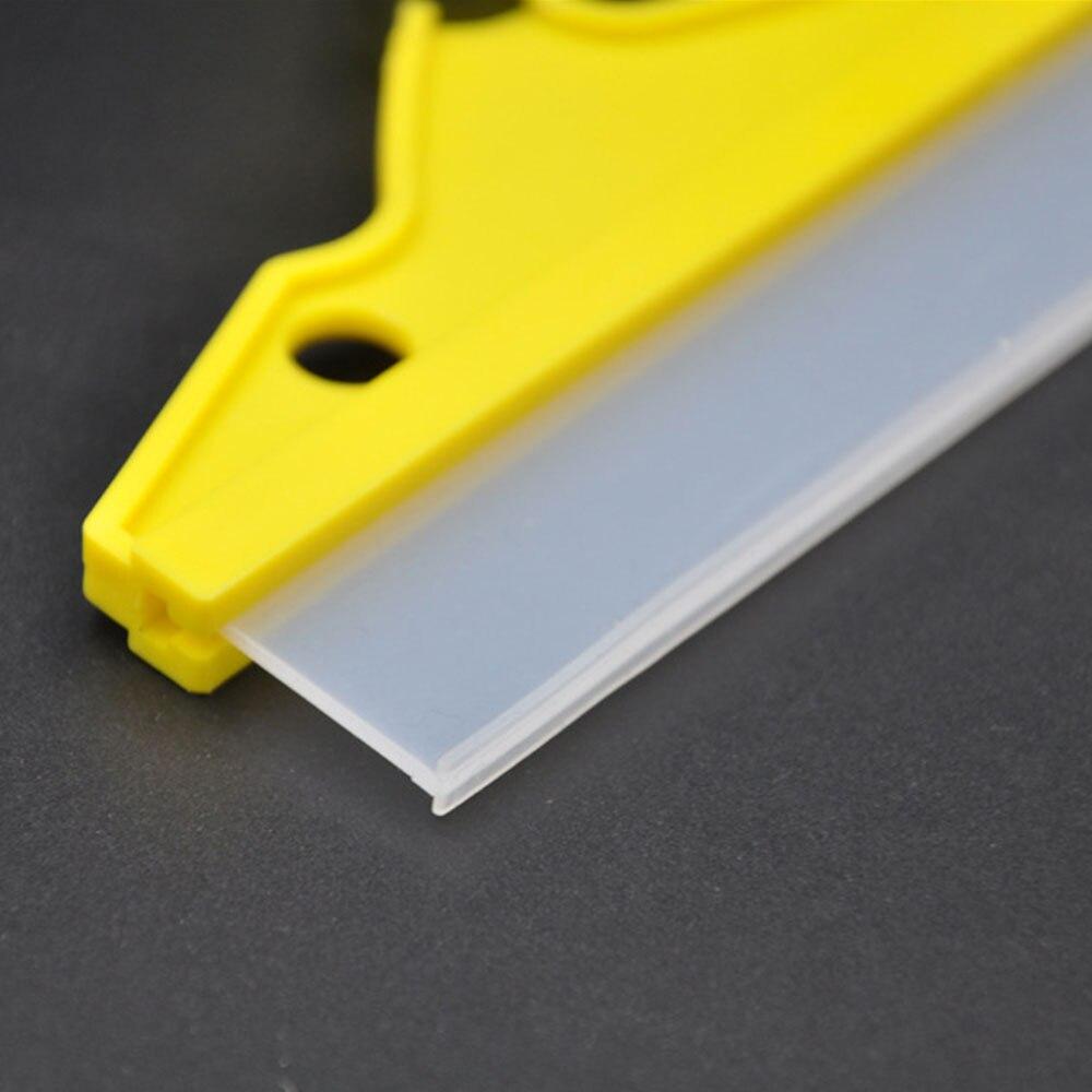 Очиститель дворника желтый автомобиль скребок для автомобиля душ резиновые автозапчасти Уход Инструмент Прочный портативный автомобильный скребок