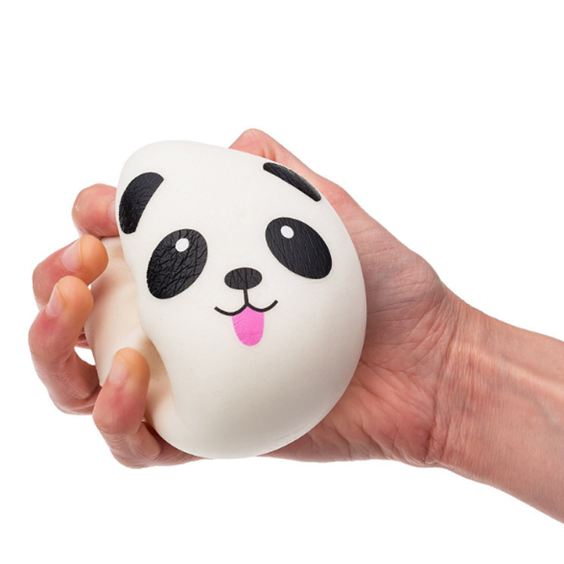 Free Shipping Cartoon Design Panda Squishy Slow Rising Cream Scented Toy Kids Kawaii Squish Antistress Toy Stress Reliever #YL