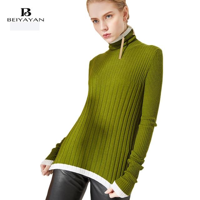 f36d97b1aaeb BEIYAYAN-Dolcevita-Maglione-di-Modo-100-Lana-A-Righe-Pullover-Manica-Pieno- Donna-Primavera-Vintage-Maglioni.jpg 640x640.jpg