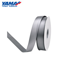YAMA Double Face Satin Ribbon 25 28 32 38 mm 100yardsBlack White Red Silver for Crafts Wedding Decoration DIY Gifts Hair Bow(China)