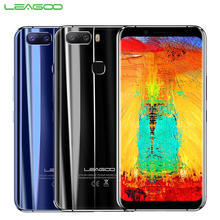 Original LEAGOO S8 Pro Cell Phone 5.99inch Full Screen 6GB RAM 64GB MTK6757 Octa Core Android 7.0  Dual Back Cameras Smartphone