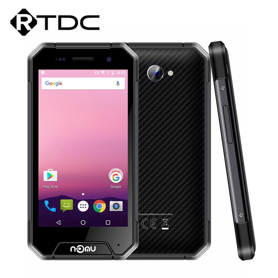 "bilder für Original Nomu S30 Mini IP68 Wasserdicht 4,7 ""MTK6737T Quad Core Android 7.0 3 GB RAM 32 GB ROM 3000 mAh 4G LTE Handy"