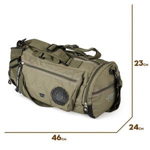 Image 2 - Ruil bolsa de viaje para hombre, bolsa de tela Oxford plegable, protege el portátil, impermeable, para viajes y ocio