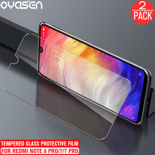 2Pcs/lot For Xiaomi Redmi 7 Note 6 Pro Tempered Glass Screen Protector 9H Explosion-proof Anti Blue Light Protective Film