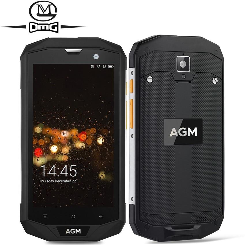 AGM A8 IP68 étanche antichoc téléphone portable 5.0