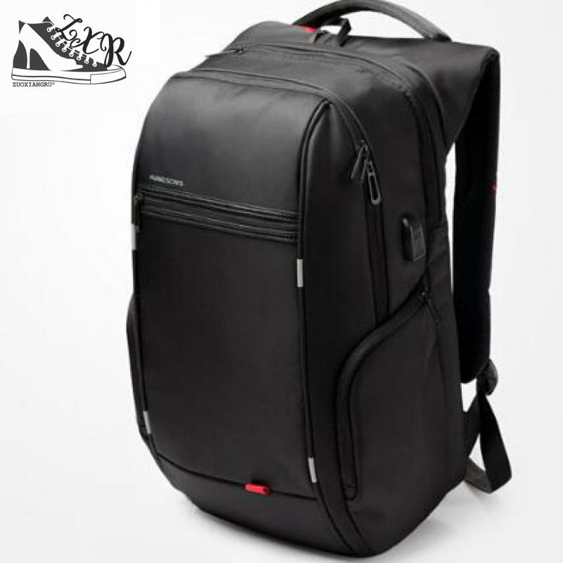 Zuoxiangru Brand Business Casual Backpack Anti-theft Waterproof Shoulder Bag External Usb Charging Schoolbag Max 16 Laptop Bag factory direct sales business backpack double shoulder pack usb charging schoolbag laptop package one issue wholesale
