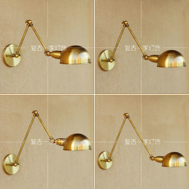 Vintage American Industrial Wall Lamp Loft E27 Bed side Restaurant Wall Light Iron Edison Lampshade Wall Sconce WWL128 мужской костюм для косплея diffuse vision institute cos cosplay cos