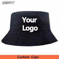 Factory Price personal embroidery logo Low MOQ 100% Cotton fisher fishing  custom bucket cap women f4134a7e5009