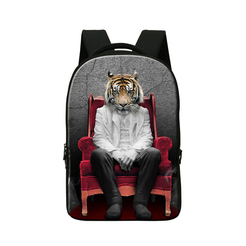Personalized Tiger Laptop Backpacks,Cool Mens Stylish Day Pack,College School Bookbags,Boys Back Pack for Travling,computer bag best laptop backpacks cool mens custom rucksack back pack womens college computer backpack bags for man business travel work