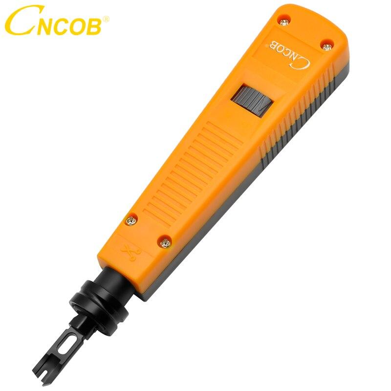 Rastreador de cables CNCOB, herramienta de impacto de TELECOM, herramientas de inserción 110 cortador de alambre cuchillo de línea de presión de línea de tarjeta