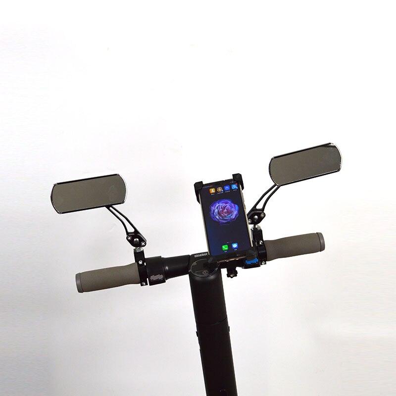 Reflexo no Espelho e suporte móvel para Ninebot Nove kickscooter Elétrica Acessórios e peças