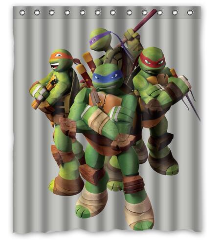 Customized Teenage Mutant Ninja Turtles Shower Curtain Waterproof Bathroom  Fabric 180x180cm Shower Curtain For Bathroom - Online Get Cheap Turtle Shower Curtains -Aliexpress.com Alibaba