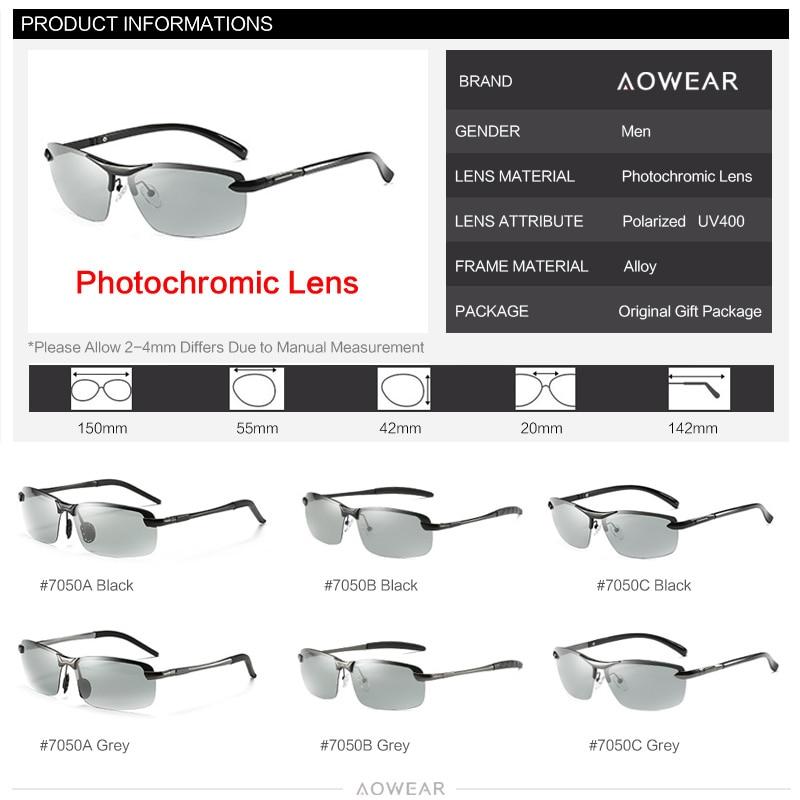 de6e5ae366 YOOSKE 2018 nuevo fotocromáticos gafas de sol Clips HD lente polarizada  gafas de sol para hombre