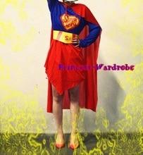 Хэллоуин рождественский подарок 3 шт. суперженщина герой подростков взрослых размер ну вечеринку костюм установить