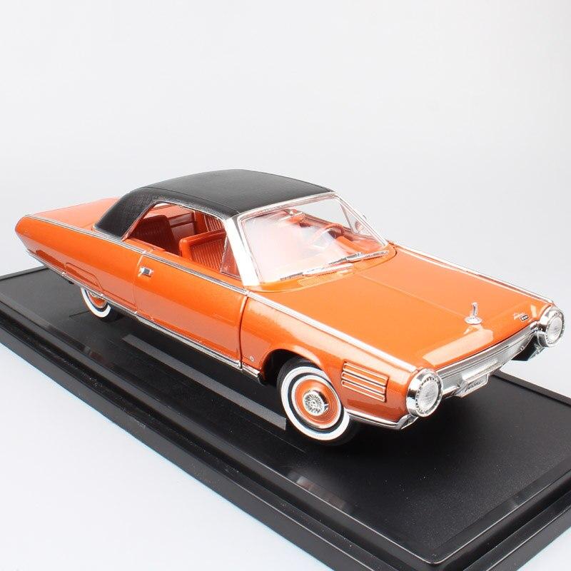 1:18 Échelle grand classique vintage Deluxe 1963 Chrysler Turbine Voiture Concept Sous Pression et Véhicules Voitures jouet modèles de cadeaux pour Enfants