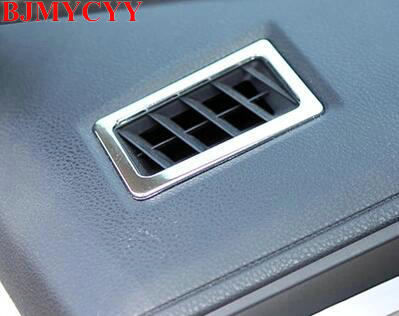 BJMYCYY For 2014 Toyota corolla car stickers stainless steel High position air conditioning outlet decoration sequins