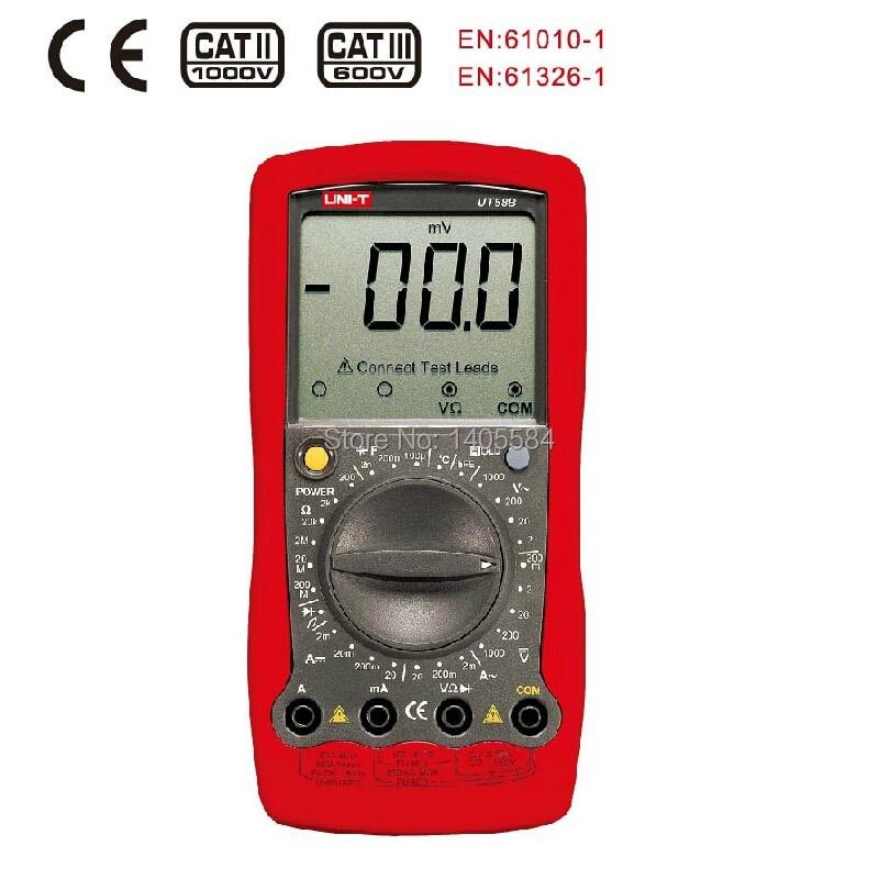 UNI-T UT58B Digital Multimeter DMM AC DC Voltmeter Diode Transistor test Max Overload Protection  цены