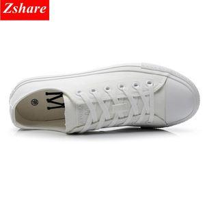 Image 4 - Chaussures en toile vulcanisées noires, blanches et jaunes pour femmes, baskets tendance, chaussures plates grande taille 35 46, collection chaussures décontractées