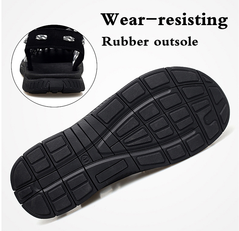 SERENE Brand2019 Summer Men Sandals Weaves Breathable Shoes Casual Sandals Fashion Design High Quality Comfortable Casual Sandal (7)
