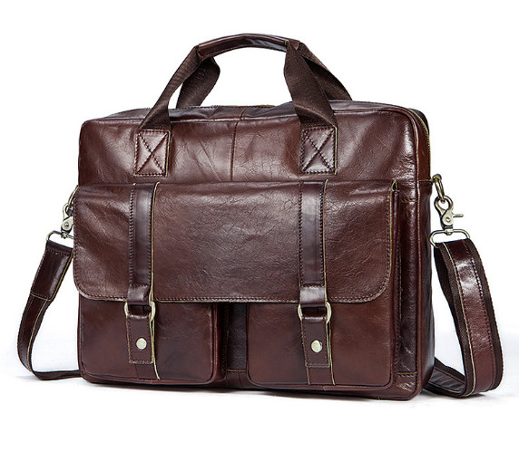 Men's Genuine Leather Casual Business Briefcase Men's Shoulder Messenger Bag Cross Section 14 Inch Laptop Bag child baby safety silicone protector table corner protection cover children anticollision edge corner guards furniture protector