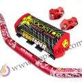 "Pro Taper Fat Bar 1 - 1/8 "" Metal Mulisha pacote Dirt Bike MotorCross Fat Bar MX alumínio corrida guiador 810 mm CRF vermelho"