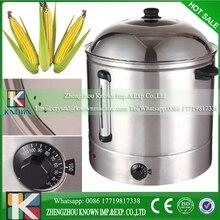 48L double layer food boiler, sweer corn warmer, sweet corn steamer