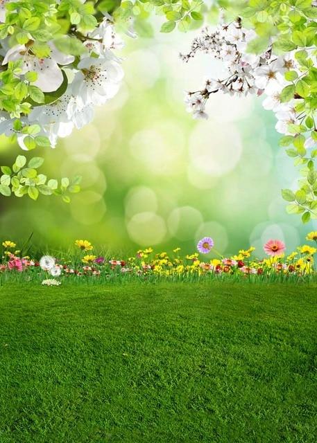 Natural Backgrounds For Wedding Children Spring Newborn