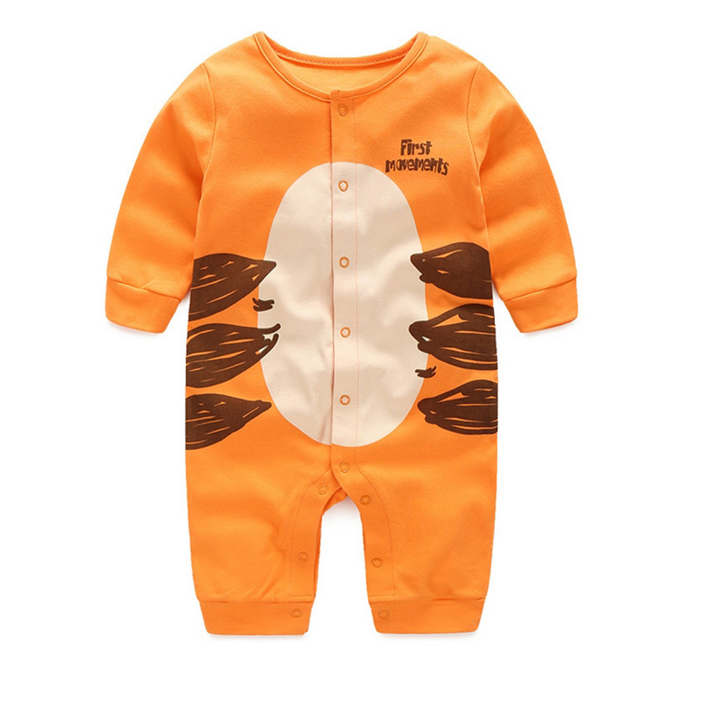 Baby spring and autumn style cotton childrens clothing line baby new long-sleeved clothes