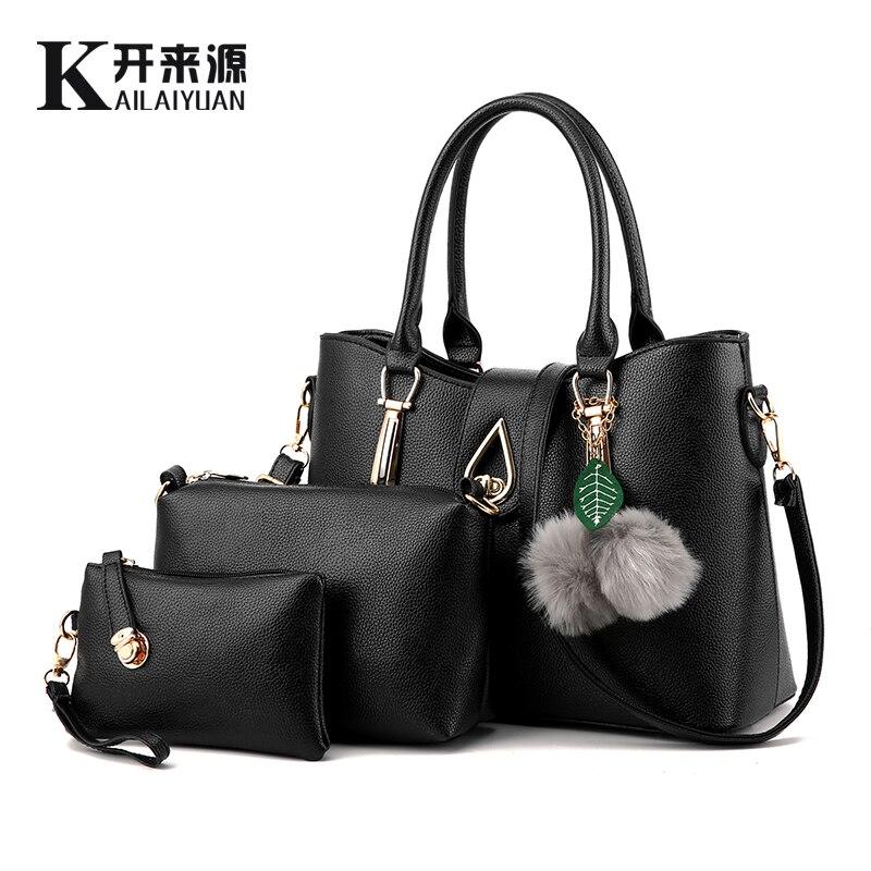 KLY 100% Del cuoio Genuino Delle Donne della borsa 2019 Nuova Europa atmosferica stereotipi borse di modo sacchetto del Messaggero del sacchetto di spalla