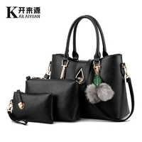 KLY 100% Genuine leather Women handbag 2019 New Europe atmospheric stereotypes fashion handbags Messenger shoulder bag
