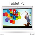 9.6 Pulgadas Original del GPS 3G tableta del teléfono del Androide Quad Core pc tablet Android tablet IPS 2 GB RAM 16 GB ROM 2G + 16G de la Tableta de la pc 7 8 9 10