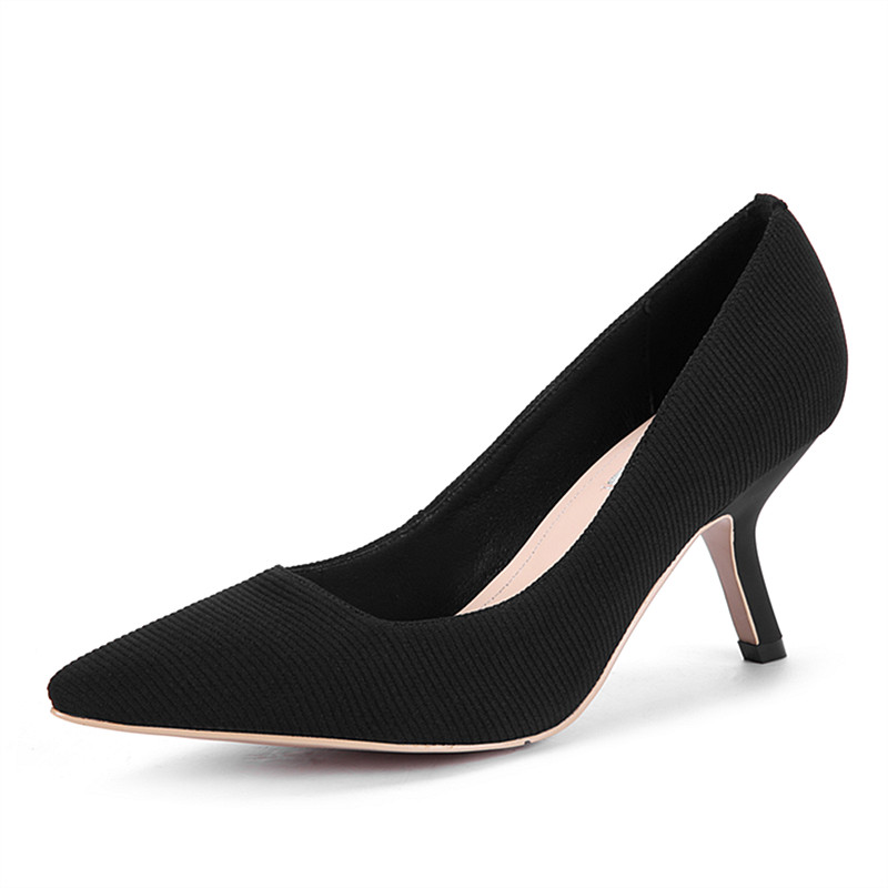 Size 34-43 Patent Genuine Leather Woman High Heels Dress Pumps Women Party Wedding Shoes Black Nude Shoes Female Office Shoes genuine cow leather female women s 10cm heels pumps round toes black beige quality female pr354 wedding party work pumps shoe