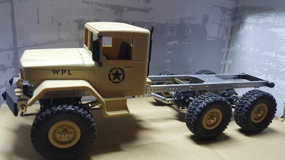 Detail Feedback Questions about WPL B16 B 16 1/16 Military Truck RC