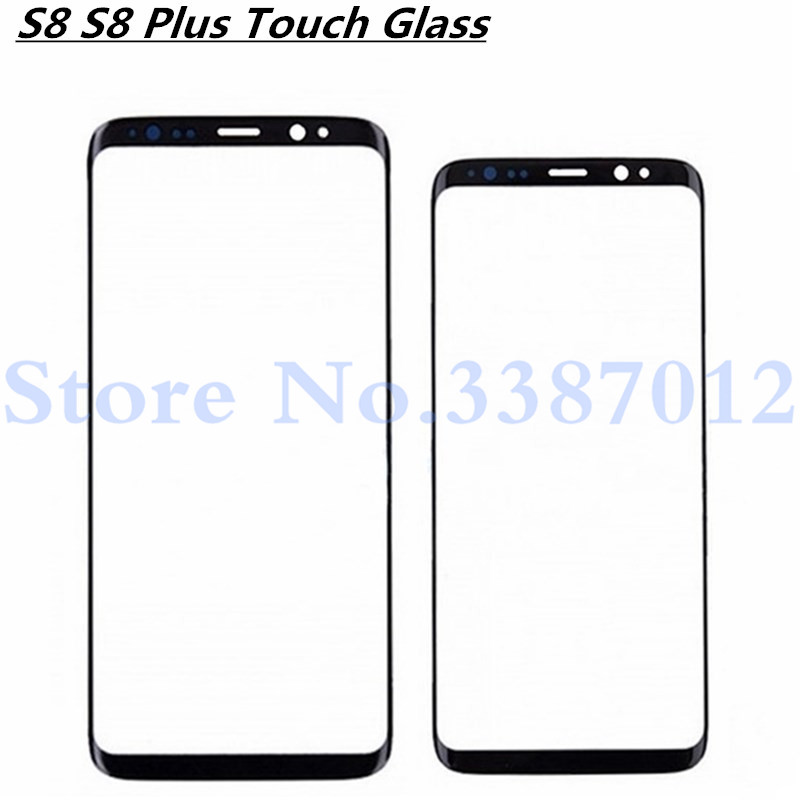 <font><b>Replacement</b></font> Outer <font><b>Glass</b></font> Lens For <font><b>Samsung</b></font> <font><b>Galaxy</b></font> <font><b>S8</b></font> G950/<font><b>S8</b></font> Plus G955 LCD Touch Screen Front <font><b>Glass</b></font> Outer Panel image