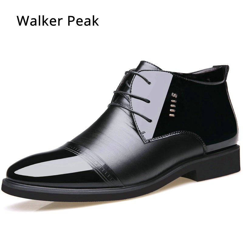 Plush Business Dress Mens Formal Shoes Wedding Pointed Toe Fashion PU Leather Winter Shoes Flats Oxford Shoes For Men WalkerPeak велосипед commencal supernormal 26 2013