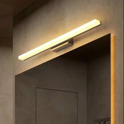 HAMRVL алюминий акрил бартика лампа современный в стиле минимализма нордический освещение зеркало свет для девочек и мальчиков