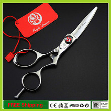 Professional Hair Scissors 5.5 inch Curved Hairdressing Barber Shears 62HRC Hair Cutting Scissors Tijeras Peluquero