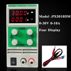 Mini adjustable dc power supply laboratory power supply digital variable voltage regulator 30v10a four display ps3010dm.jpg 250x250