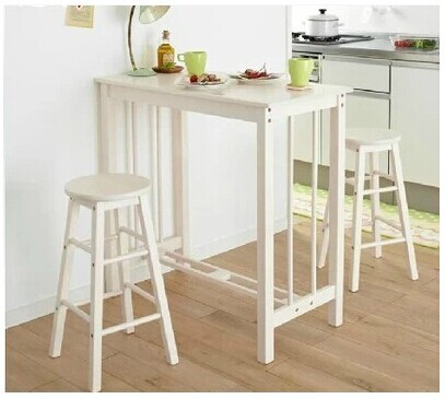 Genial Wood Breakfast Table Breakfast Bar Stool Chair Bar Tables Bar Small  Apartment Small Household Combination Coffee